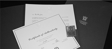after-sales certificates