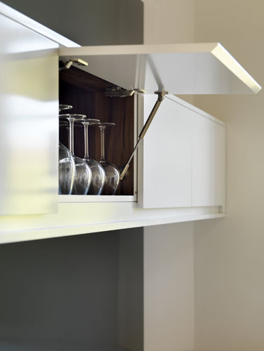 Lift up wall cabinets