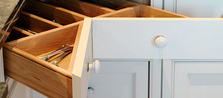 Chevron drawers