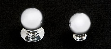 Round cupboard knob