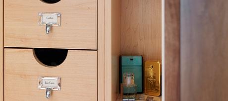 Individual drawers