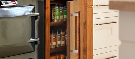 Spice cupboards
