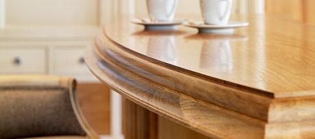 Oak breakfast bar