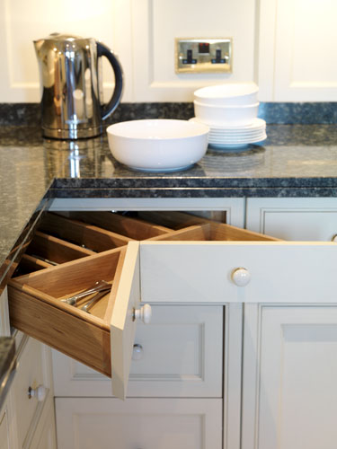 Chevron drawers