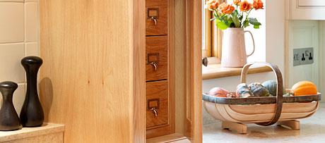 Secret mantle drawers
