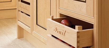 Vegetable drawers