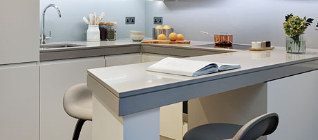 Kensho silestone worksurface